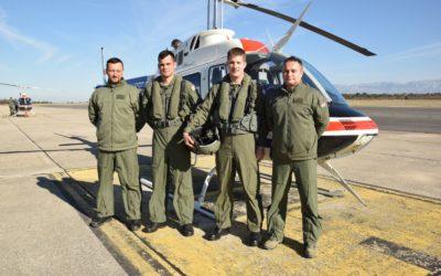 Prvi samostalni letovi kadeta na helikopterima Bell 206B3 Jet Ranger