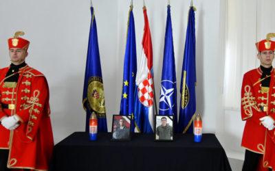 Održana komemoracija za natporučnika Novkovića i poručnika Jagatića