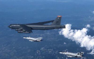 Američki B-52 u pratnji aviona HRZ-a preletio iznad Hrvatske