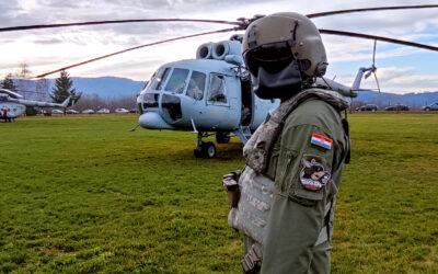 HRZ helikopterima prevezao teško pokretne pacijente iz područja pogođenim potresom