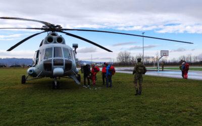 Helikopterske medicinske intervencije i pružanje potpore traganja i spašavanja HRZ-a u 2020. godini