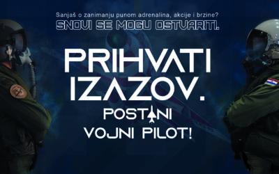 MORH raspisao natječaj za prijam kandidata/kandidatkinja za vojne pilote s tržišta rada