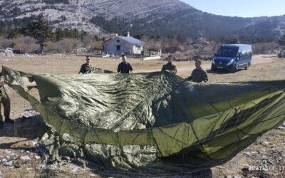 Provedeni zimski kampovi kadeta pilota u Središtu za obuku HRZ-a