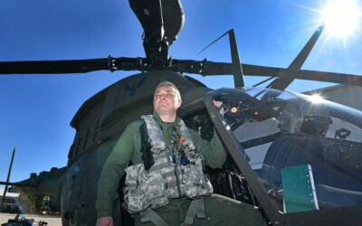 Razgovor sa zapovjednikom 393. eskadrile helikoptera