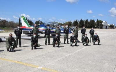 "Talijanska akrobatska grupa ""Frecce Tricolori"" posjetila ""Krila Oluje"""