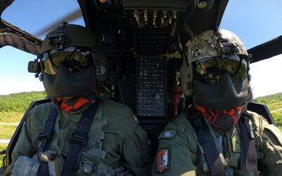 Preleti zrakoplova HRZ-a za 30. rođendan Hrvatske vojske