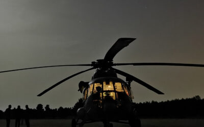 Napredna letačka obuka sa korištenjem uređaja za noćno gledanje u MSAP TC-u